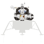 Lunar Module Ascent Stage Illustration