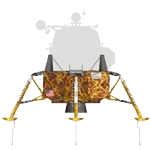 Lunar Module Descent Stage Illustration