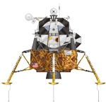 Apollo Lunar Module Illustration