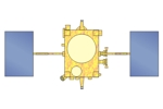 Drawing of Venus Climate Orbiter (Akatsuki)