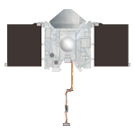 OSIRIS-REx spacecraft drawing