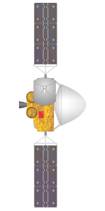 Tianwen-1 Mars spacecraft illustration