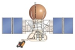 Drawing of Vega Venus probe
