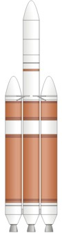Delta-4 Heavy Rocket illustration