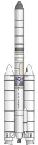 Titan 3D rocket illustration
