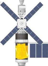 Final configuration for Skylab