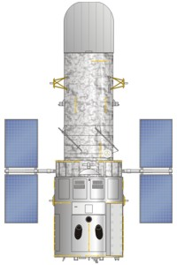 Hubble telescope illustration