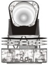 Planck telescope illustration