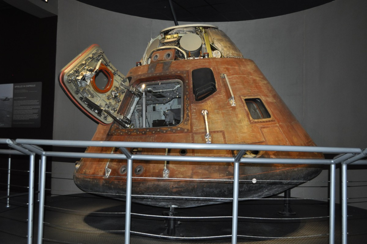 inside apollo capsule houston - photo #12