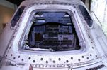 Apollo 6 side hatch.