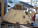 Apollo 7 Capsule side view.
