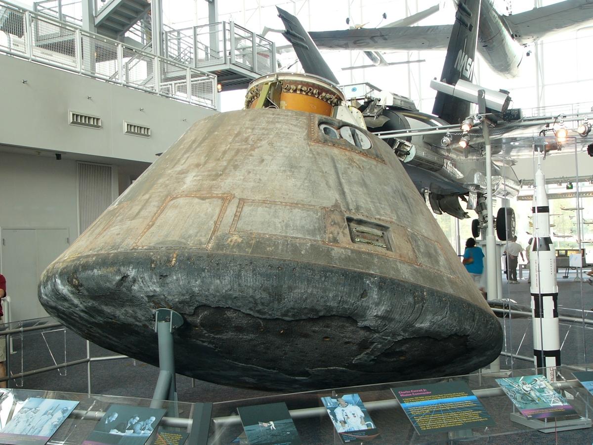 Project Apollo - Command Module Photos   Historic Spacecraft
