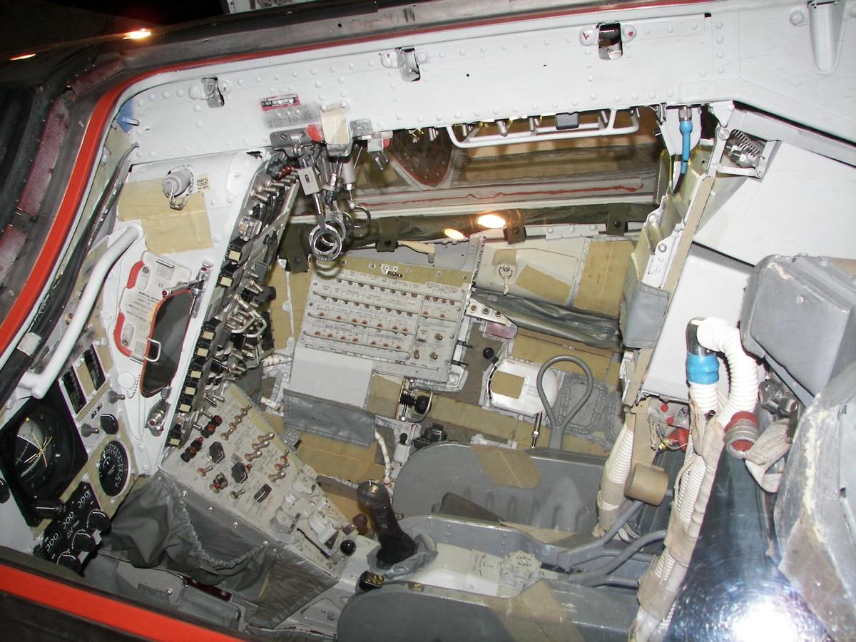 gemini spacecraft cockpit - photo #14