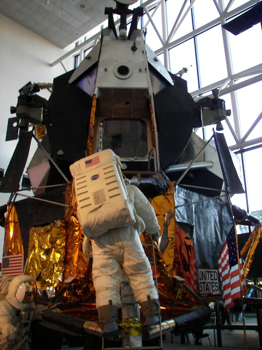 Apollo Lunar Module Historic Spacecraft