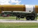 Pershing 2 missile and trailer