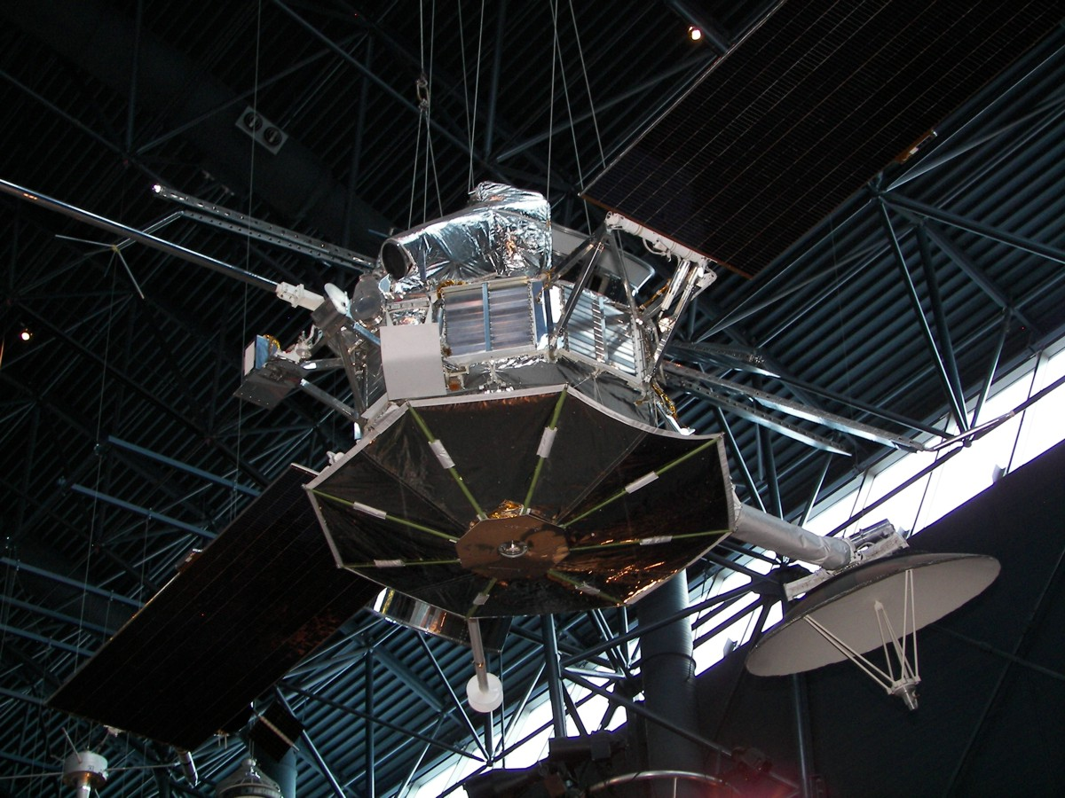 Mariner 10 mercury spacecraft