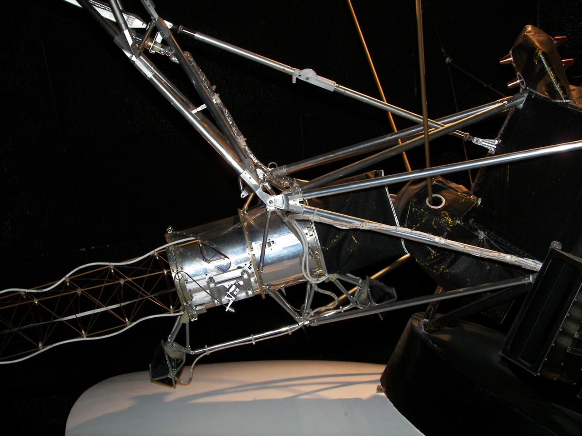 Probes To The Outer Planets Historic Spacecraft