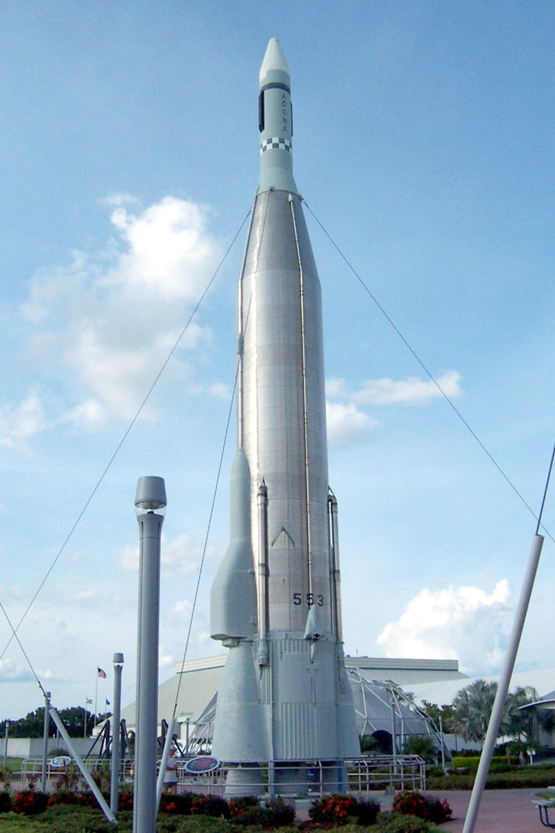 Atlas Missiles and Space Launchers   Historic Spacecraft