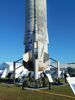 New Shepard rocket closeup.