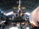 Space Shuttle Enterprise view from aft