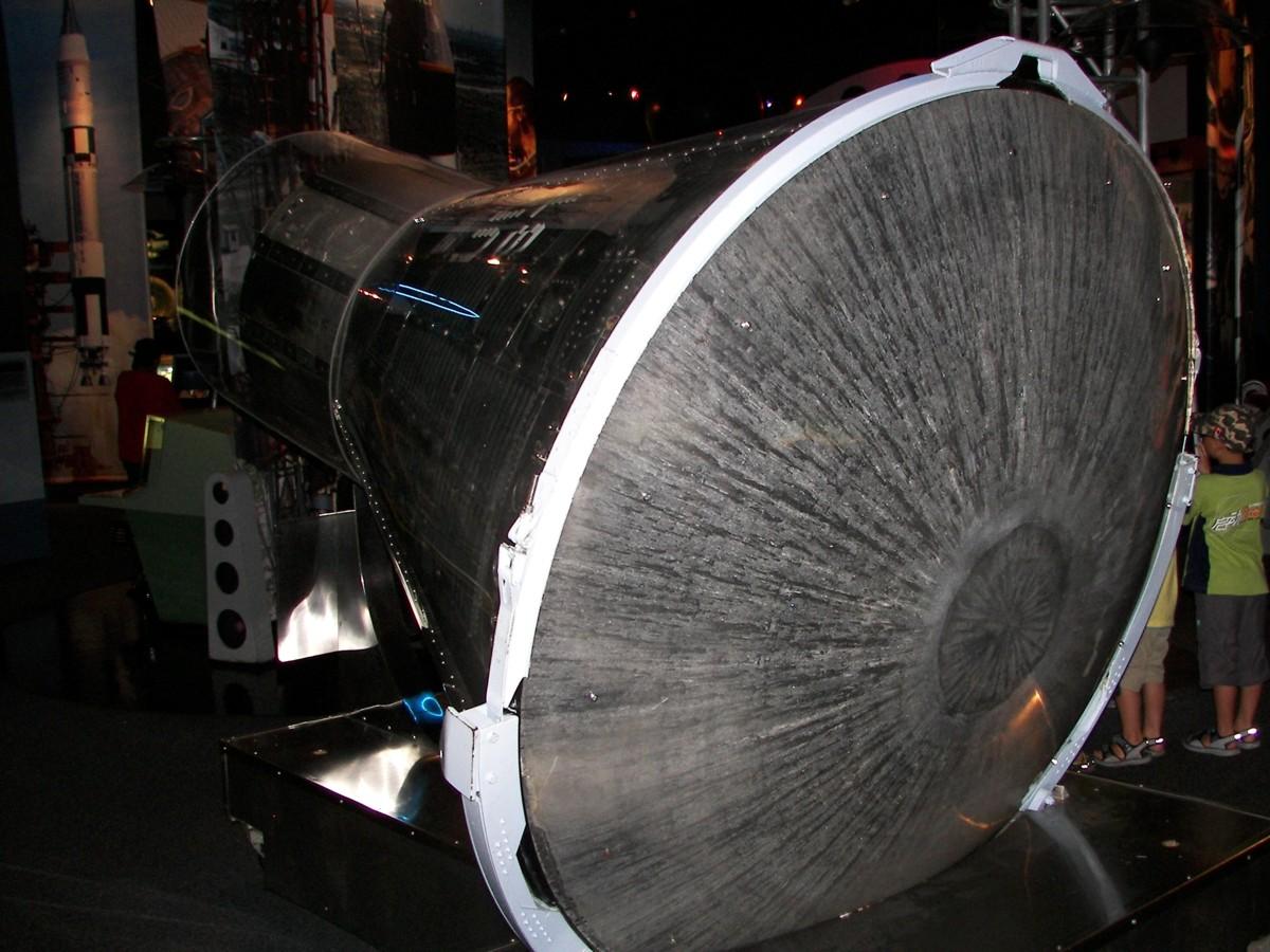 spacecraft heat shield heat - photo #25