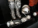 John Glenn's Space suit helmet and gloves