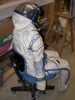 Alexandr Kaleri Sokol Space Suit Rear