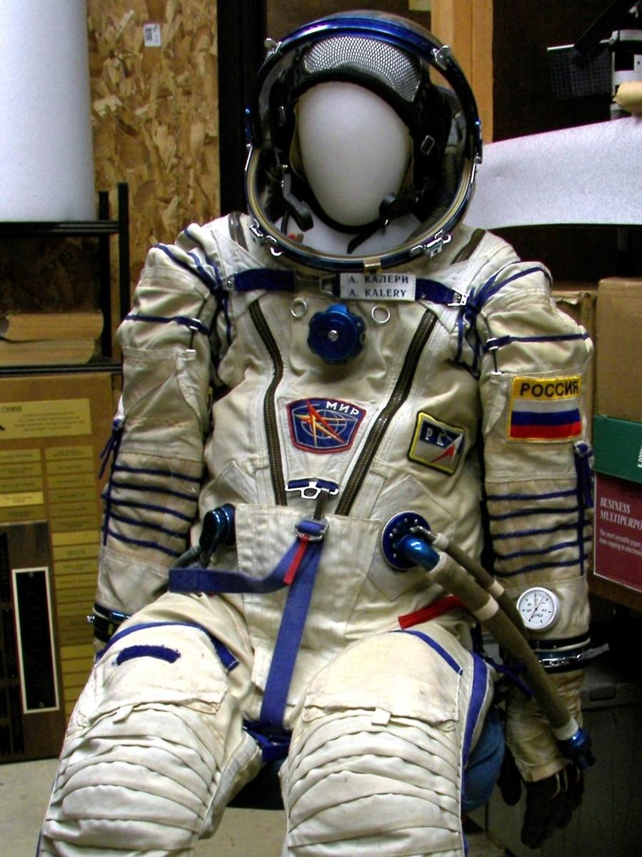 space suit rear - photo #4