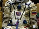 Alexandr Kaleri Sokol Space Suit Close Up