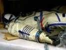 Alexandr Kaleri Sokol Space Suit Side