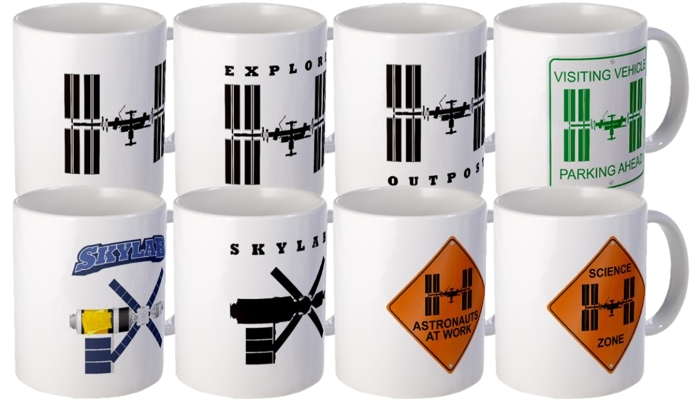 Space Station Mugs.