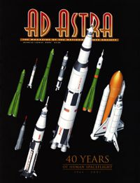 Ad Astra cover with my artwork.